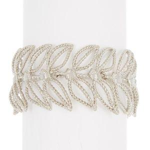 Ted Baker London Zarias Rope Leaf Bracelet
